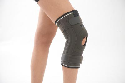Patella and Ligament Knee Support (long) with Flexible Stays